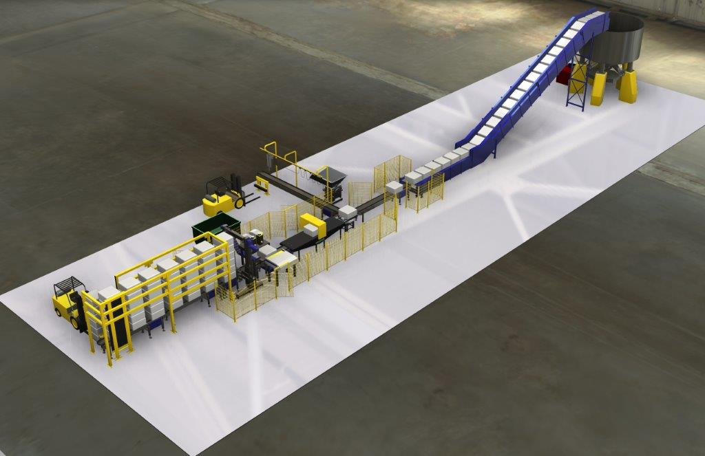 research paper automated material handling system Belt conveyor system is also used in material transport in foundry shop like supply and distribution of molding sand, molds and removal of waste this paper provides to design the conveyor system used for which includes belt speed, belt width, motor selection, belt.